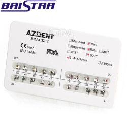 Металлические Bondable Azdent мини-Рот стоматологических ортодонтические скобы для