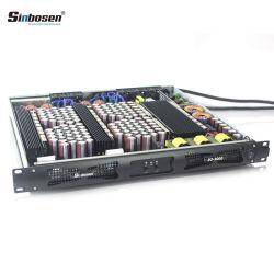 직업적인 디지털 전력 증폭기 2개 옴 안정되어 있는 증폭기 D2-3000 2 채널 1u AMP