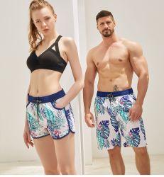 Mens-Frauen plus Größekundenspezifische Swim-Brandung-Strand-Vorstand-Kurzschlüsse mit weiches Gewebe-beiläufiger Abnützung