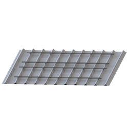 كتيفة التركيب الشمسية الشمسية على شكل حامل للسقف المسطح