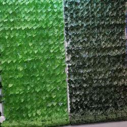 Boxwood Hedge IVY Leaf Vertical Garden Green Wall Plastic Gras Kunstmatige Fence Fabrikant voor Interieur Exterieur Landscaping