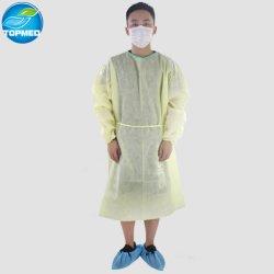 Желтый стойкий платье хирургия платье с реактивной тяги к задней панели