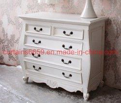 غرفة نوم خزانة [فرنش] أسلوب أثر قديم بيضاء ينحت أثاث لازم لأنّ [بدسد تبل] خشبيّة أثاث لازم خزانة /Sofa /Table /Chair بينيّة خارجيّ غلّة كرم أثاث لازم حديثة
