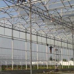 مواد بناء الصوبات الزراعية الخاصة بالأسلحةPC Sheet Greenhouse