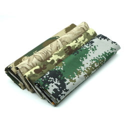 A TC de alta qualidade 65/35 20*16 120*60 impressos tecido uniforme do Exército de pigmento
