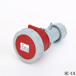 La norme CEI CEÉ Heavy Duty connecteur industriel étanche femelle (4P, 63A, 125A, CE, CCC d'approbation)