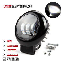 30W オートモービルライティング 4 インチ LED オフロードドライブオートトラックライト