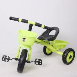 Triciclo del giocattolo dei bambini della bicicletta dell'automobile dei capretti con il cestino anteriore e posteriore (9590)