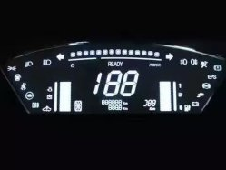 Carro de alta qualidade, E-bike Display LCD com Placa de Acionamento do LCD
