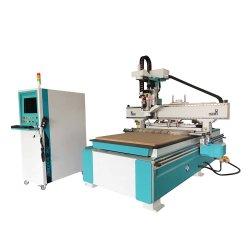 Holzbearbeitung-Holz CNC, der die Stich-Fräser-Aufzug-Ausschnitt-Tischler-verzapfende Tür herstellt Werkzeugmaschinen schnitzt
