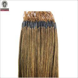 """Прямой 18"""" бразильской 100% прав Virgin Реми расширение потока Knotted волос волосы с резьбой"""