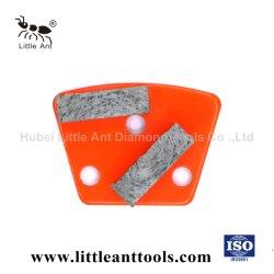 Surface en béton sec et humide Aile de broyage de métal