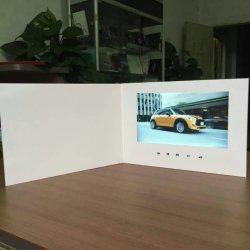 """Fournisseur chinois 5 """" Carte de mariage vidéo, carte de voeux LCD, écran LCD Invitation Brochure pour mariage"""