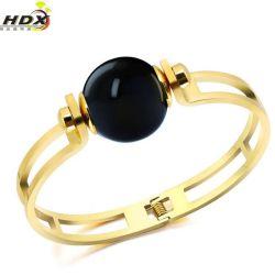 مجوهرات الموضة من الفولاذ المقاوم للصدأ لؤلؤة القط