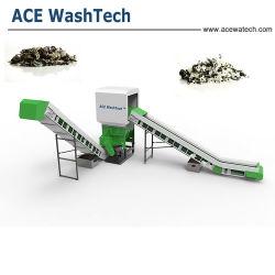 خط إعادة تدوير الغسيل البلاستيكي الخاص بوسادة التسوّق المستعملة