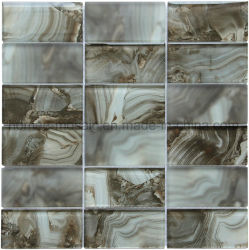 Nuevo patrón de inyección de tinta precio directo de fábrica Mosaico de vidrio