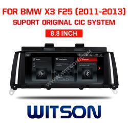 "Grand écran Witson BMW Android 8.1 voiture 8,8 DVD "" pour BMW X3 F25 (2011-2013) CIC"