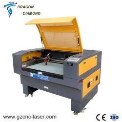Não 6090 Metal gravura a laser de CO2 com câmara CCD de focagem automática para vestuário