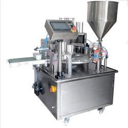 Caixa de plástico, Água Mineral Iogurte Cup enchendo o nivelamento da máquina de Vedação