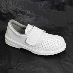 Las hembras de goma antideslizante de color blanco cómodo Calzado de enfermería