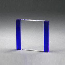 Blue Vidro cristal bypass suporta formatos entre paralelo