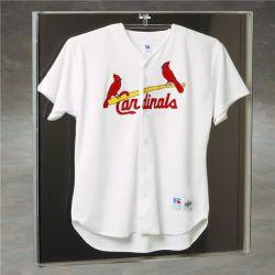 Camiseta de acrílico del bastidor de pantalla deporte fútbol jersey Expositor/marco de la sombra