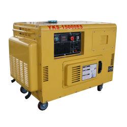 AC Phase unique 10kVA Groupe électrogène Diesel silencieux générateur portatif