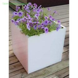 مكعب معدن مزارعة - بيتيّة حديقة مربّع [فلوور بوت] - وعاء صندوق