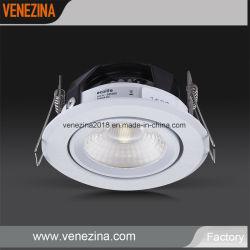 سقف منخفض عالي الجودة 6 واط خافت اقتصاد خفيف سعر جيد ألومنيوم مصباح LED للمبيت مع ضمان لمدة 5 سنوات