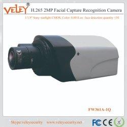 2MP Hikvision captura com câmaras de vigilância de reconhecimento facial do software de reconhecimento facial
