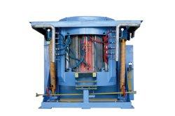 Horno de inducción de ahorro de energía de fusión de chatarra de hierro