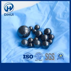 회전 정밀도 방위, 공 벨브, 화학 펌프 또는 장비 의 교류 미터를 위한 주문 크기 1mm-50.8mm 실리콘 질화물 또는 실리콘 탄화물 또는 반토 또는 지르코니아 세라믹 공