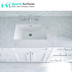 Белый туман кварцевого камня Кухонные мойки