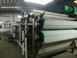 Faible humidité de la courroie de gâteau filtre presse pour la construction de déshydratation des boues de l'industrie