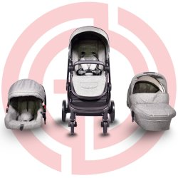 Asiento de coche Travel System cochecito de bebé plegable bebé Bugger para bebés juguetes para bebés