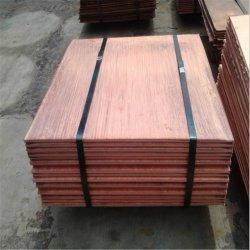 Cathode de cuivre, plaque de cuivre cuivre électrolytique avec 99,9 % Cuivre électrolytique