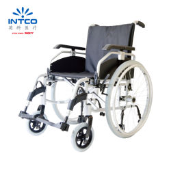 China Hospital Deficientes de alta qualidade Manual Dobrável Cadeira leve