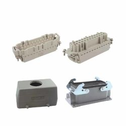 Los conectores eléctricos de potencia de terminales de tornillo conector para uso intensivo completo