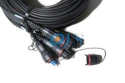 LC duplex 8 Core Patch cable exterior correspondem aos equipamentos Errison