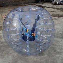 Corps de bouclier gonflable Zorb ballon de soccer de la bulle