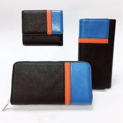 Multicolor Pebble cuir synthétique de haute qualité Designer Mesdames Wallet