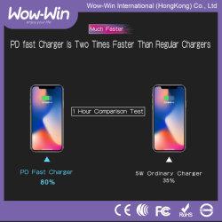 Plus petit type 30W-C Pd et 2 ports USB-d'un chargeur de téléphone mobile