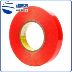 Nastro laterale adesivo del panno di vetro della fibra doppio