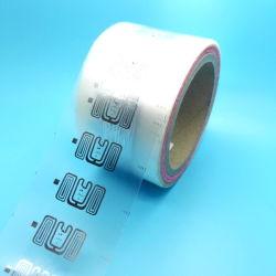 Klassische kundenspezifische waschbare 860-960MHz HY-F43 M4E RFID UHF gesponnene Kennsatz Kleid-Kleidungs-Fall-Marke für Kleid