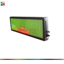 P.H 7.62 Drei-Zeilen laufender Text oder einzelne Zeile des Meldung-Doppelfarbe USB-LED programmierbares Börsentelegraf-Zeichen Zeichen LED-Schaukasten-LED