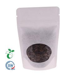Sacchetti di plastica biodegradabili del sacchetto della chiusura lampo del mestiere dei sacchi di carta del Kraft