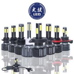Faro automatico dei lati LED di X3 S1 G4 4 con la lampada H4 9005 dell'automobile LED di H7 12000lm 9006 9007 9004