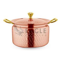 Potenciômetro Grande do Estoque da Sopa do Restaurante Comercial do Cookware 3ply