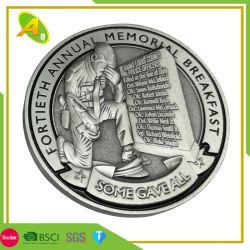 Emblema militare della moneta della difesa della forza dell'argento del metallo australiano su ordinazione all'ingrosso dello smalto (168)