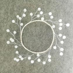 Fleur artificielle de l'acrylique gerbe de fleurs de trame géométrique